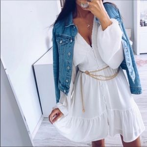 Dresses & Skirts - 💃🏻Daisy Lovely Ruffle Hem Dress Mini